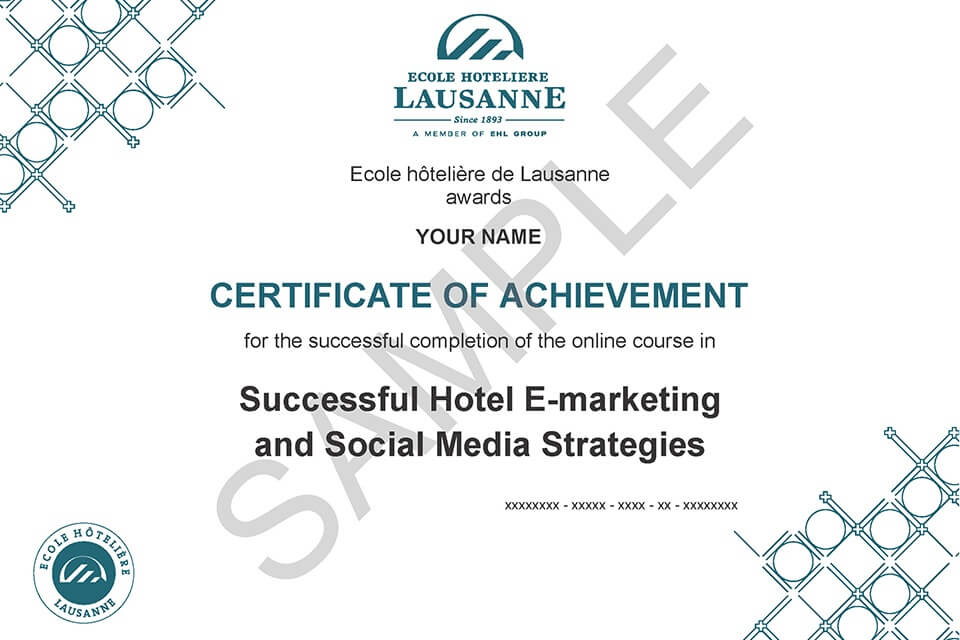 Digital Marketing Hospitality Management Online Programs Ecole