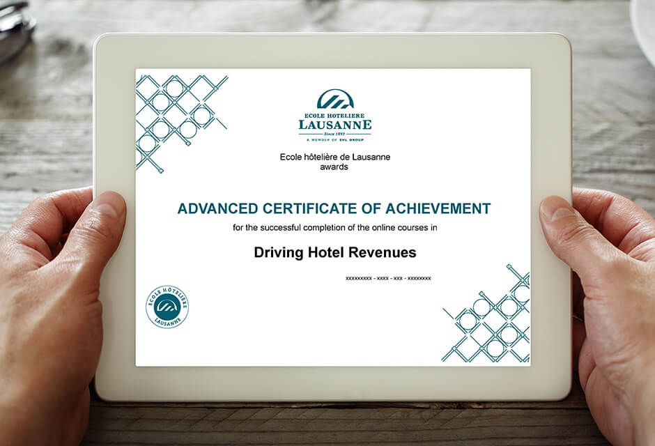 Advanced Online Certificate