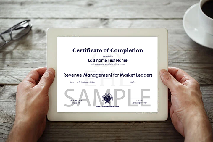 hotel-online-course-certificate-ipad